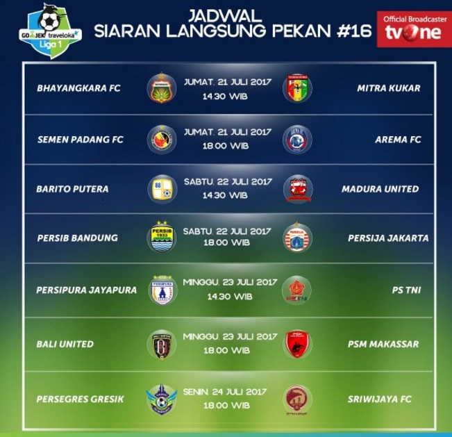 Image Result For Jadwal Siaran Live Persipura Vs Psm Makassar