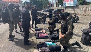 61 Personil Brimob Batalyon A Pelopor Disiagakan Untuk Pengamanan Event PON di Papua
