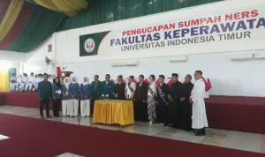 Uit Ambil Sumpah 156 Profesi Ners Mata Sulsel